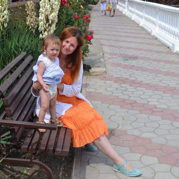 Мария Князева, редактор детских проектов Дочь Маруся, 1,5 года