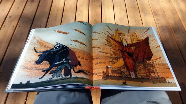 Разворот книги «Лиса и Заяц»