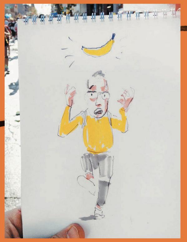 12.58 Кажется, я пропустил банановый перекус