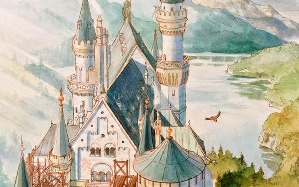 Многие события книги происходят во дворце, который можно было бы назвать сказочным, но неоготический Лебяжий камень — «Нойшванштайн» — не только существует в реальной Баварии, но и является одной из главных достопримечательностей юга Германии.