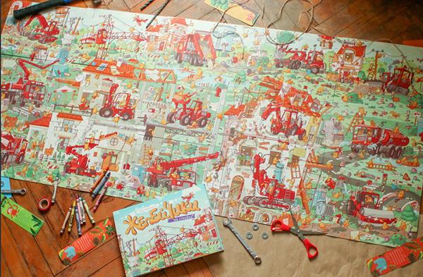 Татьяна Руссита сделала даже специальные книжки-картинки для самых маленьких. Они подходят для малышей, которые только одолели азбуку и выучили буквы. Рассказы в книжках-малышках короткие: такие ребенок сам легко освоит. А на каждой странице — милые и забавные акварельные рисунки.