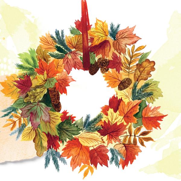 Иллюстрация из книги «Мой гербарий. Листья деревьев»