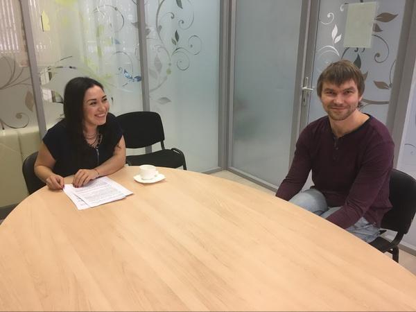 Во время интервью с одним из лучших предпринимателей России Андреем Кривенко