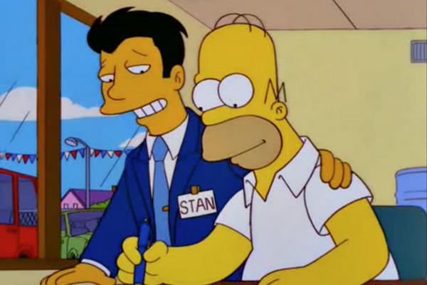 Гомер покупает автомобиль — s10e15. Кредитные рынки — глава 8