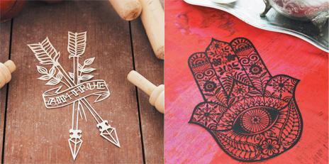 В книге «Магия бумаги» есть 20 страниц с шаблонами для вырезания