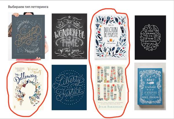 Задумываюсь про стиль шрифтовых, предлагаю выбрать из небольшого набора.