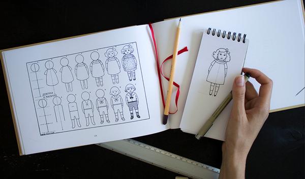 Как нарисовать женщину за 5 минут