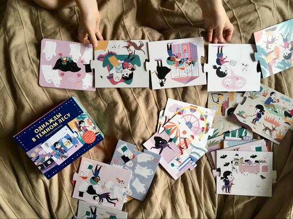 «Истории по карточкам рассказывать легко: Настя к каждой картинке придумывает по 2-3 сюжета.