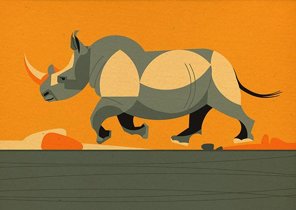 В книге о животных Юга — теплые песочные оттенки, яркая зелень и солнечные блики.
