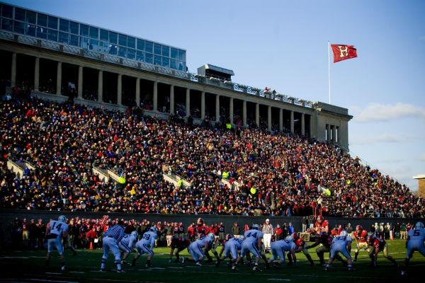 В Гарварде большое внимание уделяют спорту, как способу переключиться, отдохнуть