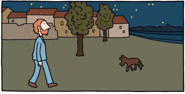 Помните картину «Звездная ночь»? Ван Гог решил написать ее, находясь в лечебнице для душевнобольных. В тот день он проснулся еще до рассвета, выбрался из кровати и подошел к окну