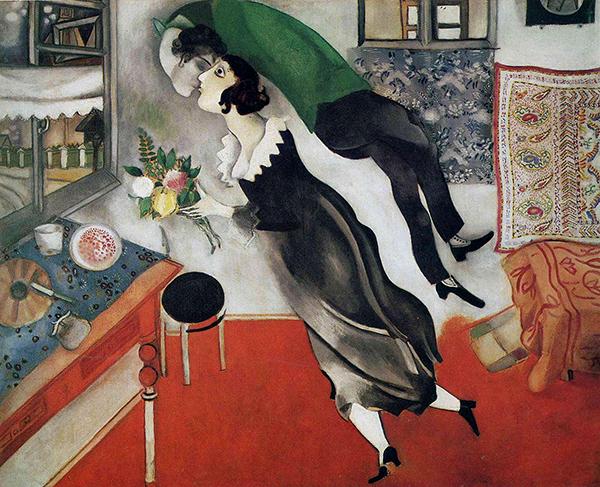 Истории эти настолько живые, что после прочтения кажется, что только что пришёл с дня рождения Шагала и видел воочию: яркие цветы, узорчатые платки, его возлюбленную Беллу в черном платье с белым воротником.