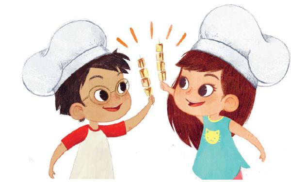 Все блюда простые и вкусные — ровно настолько, чтобы дети не устали их готовить, с нетерпением ждали первой порции и просили добавки. Автор книги Элеонора Тэри пишет весело и понятно, приправляя перечень продуктов интересными фактами.