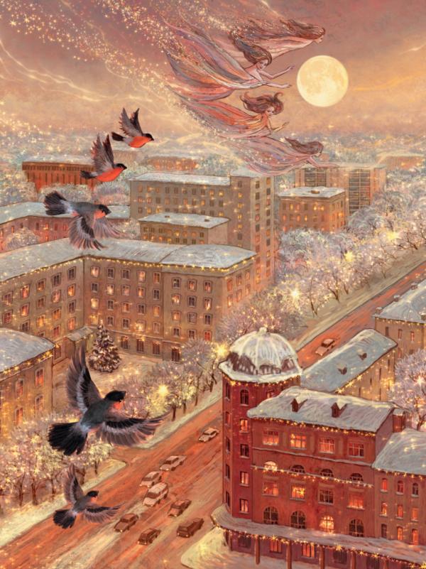 Иллюстрация из книги «Книга Нового года и Рождества. Наши дни»