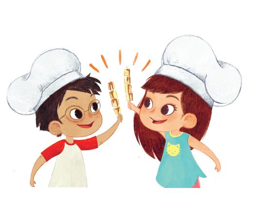 Что если на время каникул превратить кухню в школу магии? Здесь можно сварить колдовское зелье, которое побеждает все болезни, и испечь пряный приворотный кекс.