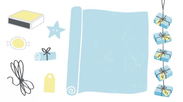 Купите несколько упаковок спичечных коробков и используйте их в качестве коробочек для подарков