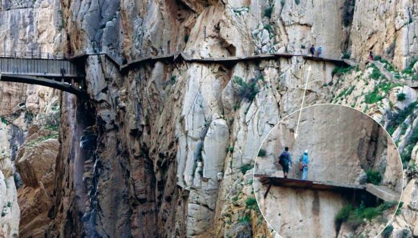 До реконструкции в 2015 году Каменито-дель-Рей («Королевская тропа») была самой опасной пешеходной дорогой в Испании