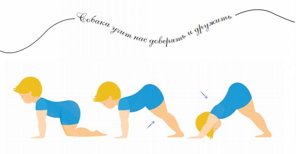 Йога для самых маленьких