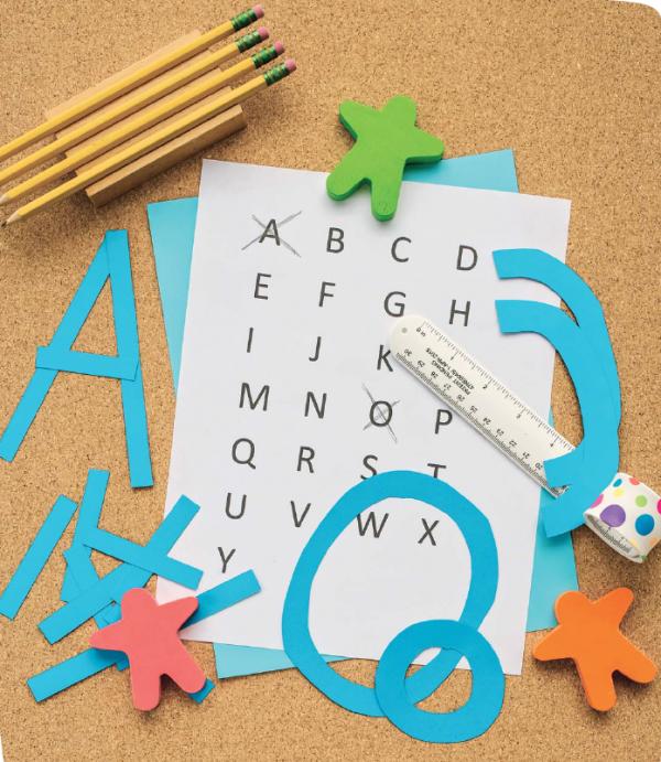Из чего состоят буквы? Из палочек, кружочков и разных дуг!