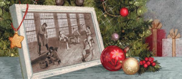 По легенде, первые стеклянные ёлочные шары появились в 1848 году в Германии
