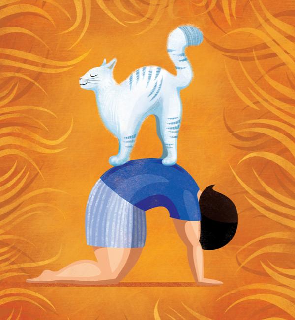 Йога для самых маленьких. Выполняем упражнения с родителями и забавными животными
