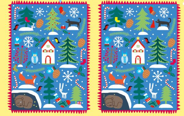 Малыш не сможет оторваться от заданий: будет искать самую старинную открытку, играть в новогоднюю викторину и считать гирлянды. Волшебно!