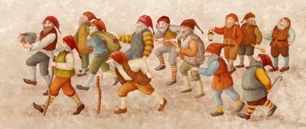 В Исландии Деда Мороза заменяют тролли. Их тринадцать, и их называют Йоуласвейнами. Приходят они по одному в каждую из 13 ночей до Рождества и в каждую из 13 ночей после