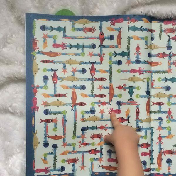 «Гигантские лабиринты» и цветные карандаши