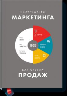 Есть сотни книг на тему маркетинга и продаж, но нам еще не встречалась книга, в которой были бы перечислены все инструменты маркетинга, которые должны быть «в руках» у менеджеров по продажам