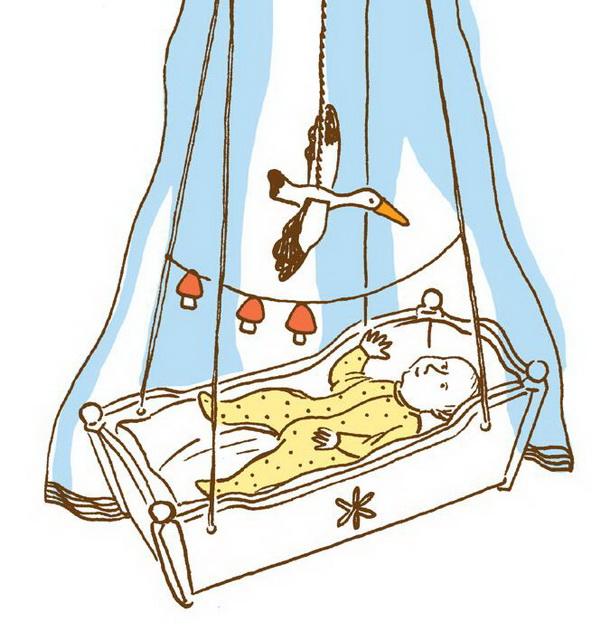 Для самых маленьких: игрушки-подушки, мобили и осьминожки из носков