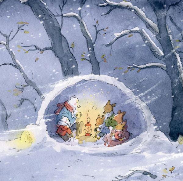 Иллюстрация из книги «Дом»