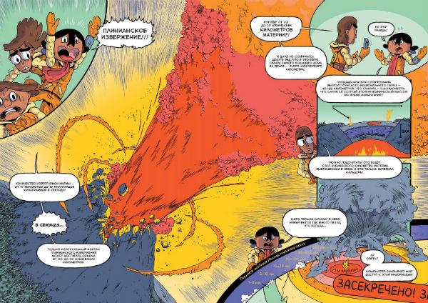 Самый сильный тип извержений называют плинианским