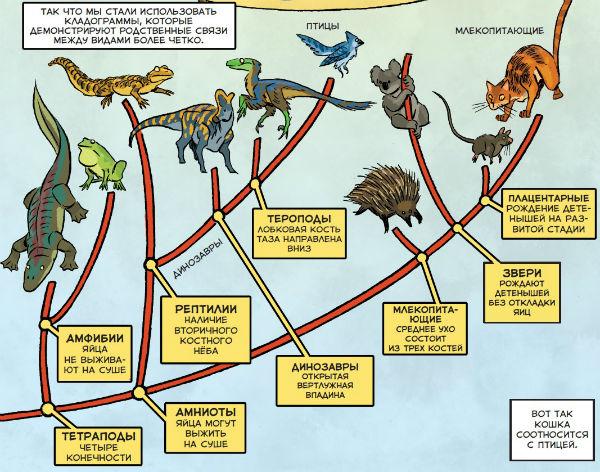 К тому моменту, как доберетесь до последней страницы, вы многое узнаете о палеонтологии и сможете представить динозавров такими, какими никогда не представляли их прежде.