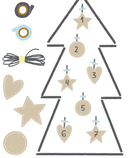 Можно собрать елку из самих подарков