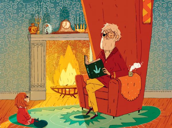 Но и для чтения с маленькими детьми эти истории подойдут идеально. Родители особо отмечают, как хорошо автор работает с картинкой и показывает траекторию движения героев на страницах, — для детей это очень наглядно.