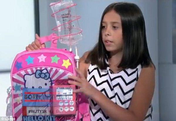 Учителя Кайли отправили изобретение девочки на Конвенцию изобретений Коннектикута, где оно выиграло главный приз. Люди из разных уголков страны, узнав про рюкзак Кайли, жертвуют деньги на его производство.