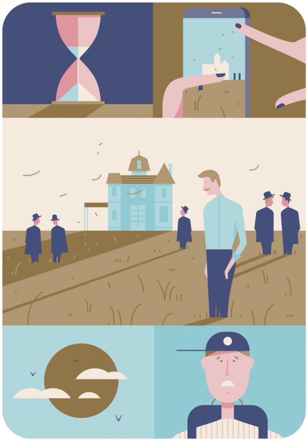 Раскадровка — сборник примитивных комиксов, которые передают сюжет вашего фильма в образах.
