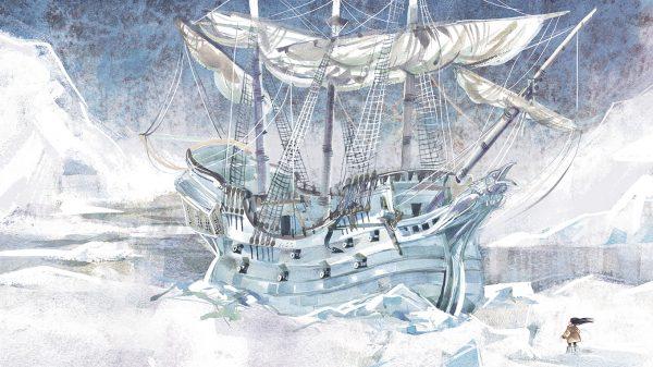 История в «Пиратах Ледового моря» очень зимняя — со льдами, снегопадами и ветром, пронизывающим до костей.