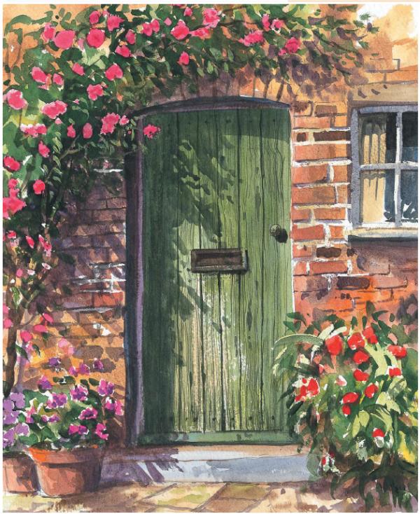 Двери — тоже элемент пейзажа. И он прекрасен.