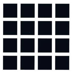 Оптическая иллюзия из черных квадратных блоков называется сеткой Германа
