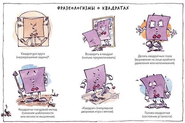 Мы насчитали минимум 8 научных областей, с точки зрения которых рассматриваются фигуры в книге.