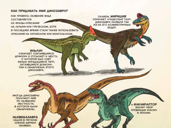 А как бы вы назвали своего динозавра?