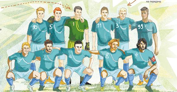 Футболисты как мушкетёры: в команде один за всех — и все за одного!