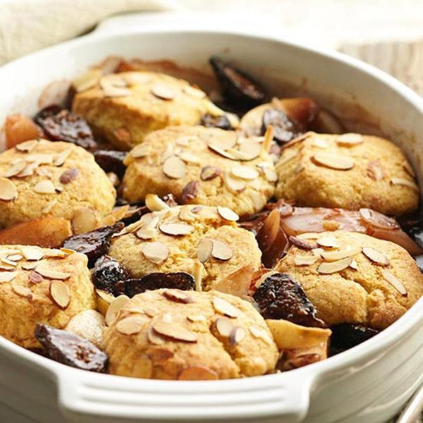 Печенье с грушей и инжиром