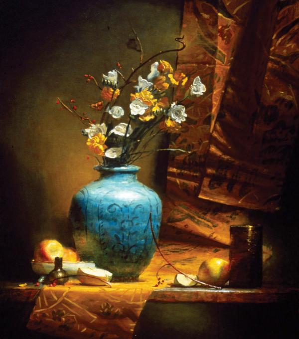 Как и обнаженная натура, натюрморт — эффективный этап обучения для любого живописца