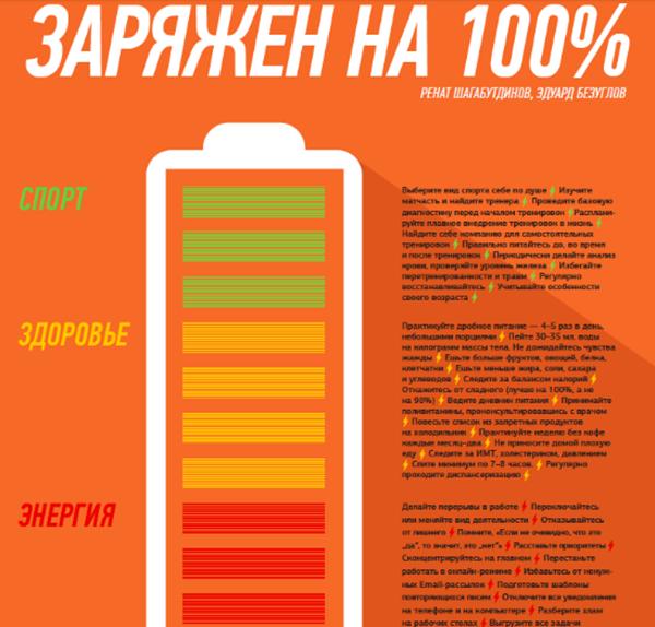 С этим плакатом понятие «утренняя зарядка» приобретет для вас совершенно новый смысл.