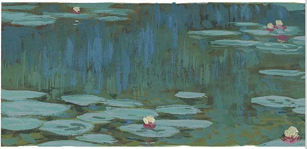 Именно после этого события Моне написал знаменитые «Водяные лилии».