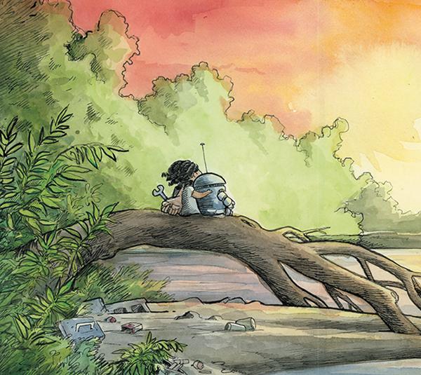 Автор бестселлеров New York Times и обладатель премии Айснера Бен Хатке рассказывает милую и трогательную историю о дружбе, преодолении страхов и приключениях так, что даже самые маленькие дети захотят ее прочитать.