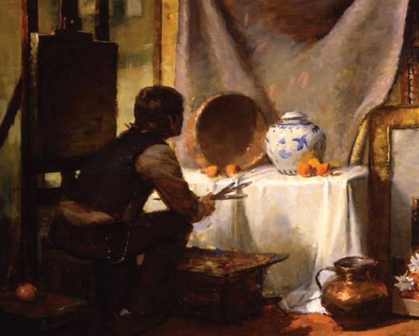 Леонардо да Винчи писал: «Из всех наук важнейшей является живопись». Из всех наук! Конечно, трудно увидеть связь между живописью и наукой, но она есть. И очень глубока.
