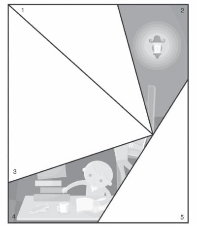Сложи части картинки, вырезанные из предыдущего листа, так, чтобы получилось целое изображение.